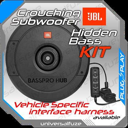 "JBL Bass PRO Hub Spare tyre 11"" Subwoofer DIY"
