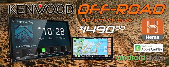 Kenwood Hema Navigation adventure package