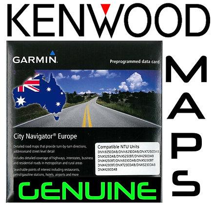 Genuine Kenwood Maps Update
