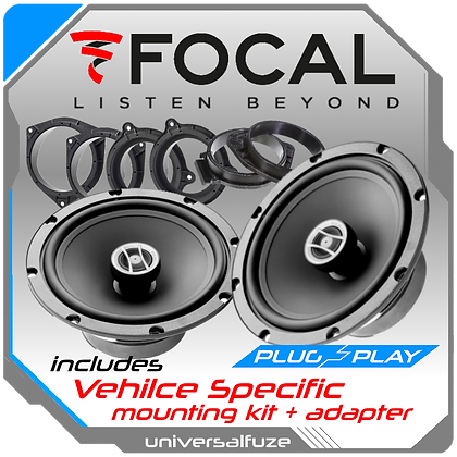 "Focal 6.5"" Auditor RCX 165 Rear Speaker kit"