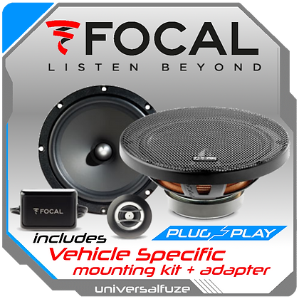 "Focal 6.5"" Auditor RSE 165 Front Speaker kit"
