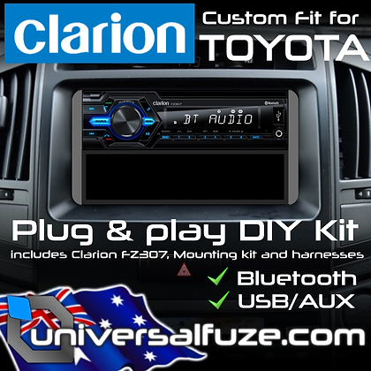 Clarion Bluetooth USB upgrade pack for Toyota