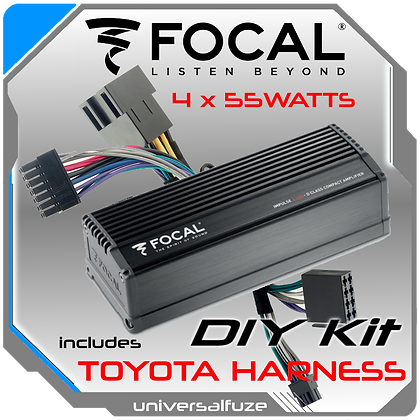 Focal Impulse Plug & Play amplifier for Toyota