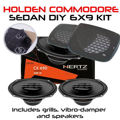 Hertz 6x9 speaker kit for Holden Commodore Sedan