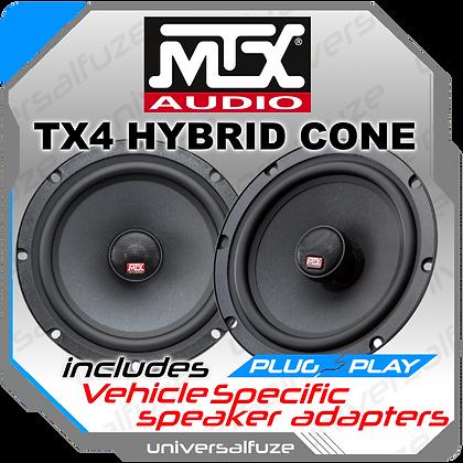 MTX TX4 Front or Rear Co Axial speaker kit