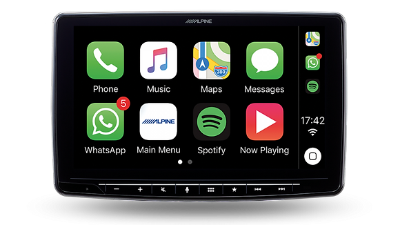 "Alpine Halo9 9"" Car play / Android Auto multimedia unit"