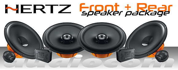 Hertz Dieci 6 Speaker package