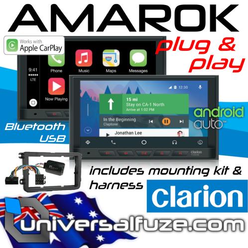 AMAROK Clarion Apple Car Play Android Auto Kit