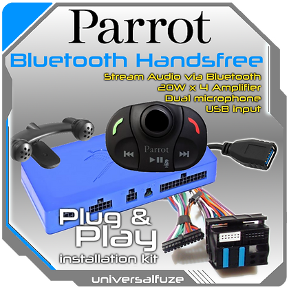 Parrot MKi9000 Bluetooth Streaming H/Free Kit Plug and Play