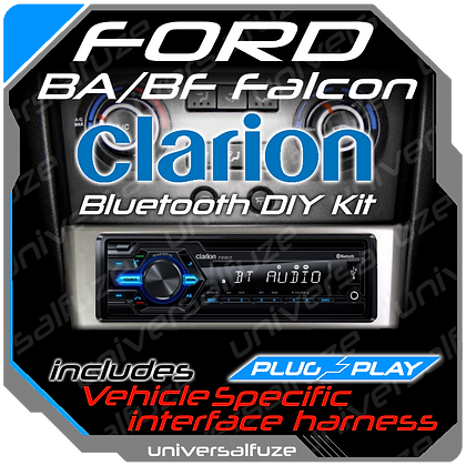 Ford BA BF Territory Clarion Audio unit upgrade package