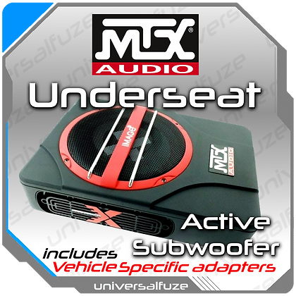 MTX Audio Underseat Subwoofer