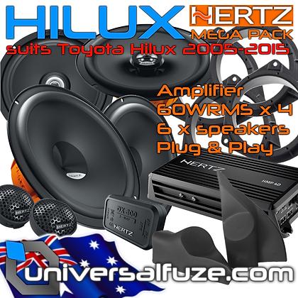 TOYOTA HILUX Custom fit HERTZ Mega Pack