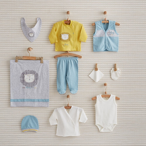 THE KING NEWBORN BABY 10 IN 1 GIFT SET