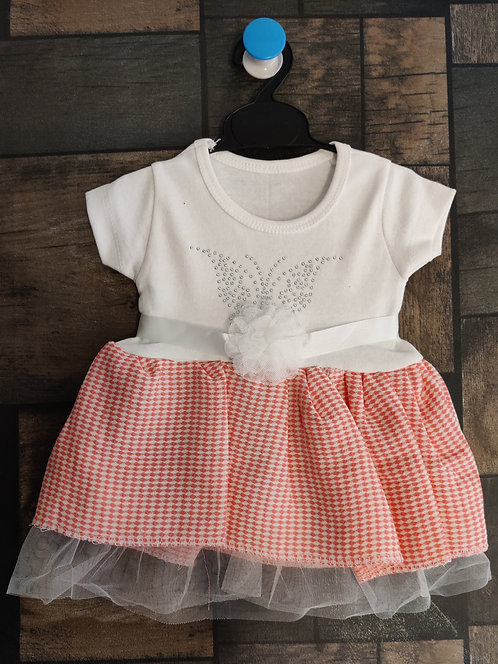 BABY GIRL SHORT SLEEVES COTTON DRESS