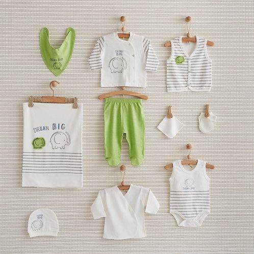 DREAM BIG NEWBORN BABY 10 IN 1 GIFT SET