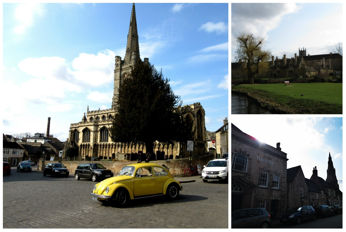 Time Travel to the Stone Town:  Stamford, Lincolnshire