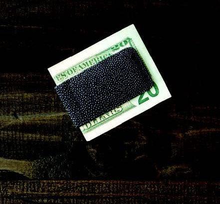 BPM500•Genuine Stingray Magnetic Money Clip