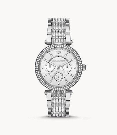 MICHAEL KORS Parker Multifunction Stainless Steel Watch