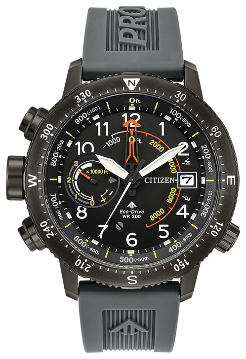 Citizen Promaster Altichron Men's Eco-Drive BN5057-00E Sporty Watch