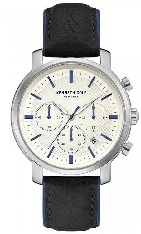 Kenneth Cole CHR Dress Sport Leather Band Watch KC50775001