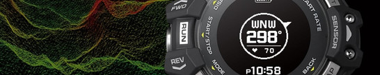 Check the status of your training, training data and history, all on the G-SHOCK MOVE app