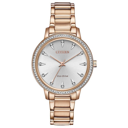 CITIZEN Silhouette Crystal FE7043-55A
