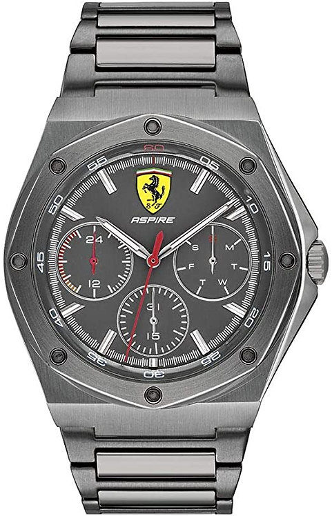 Scuderia Ferrari Aspire Grey Men's Watch (0830695)