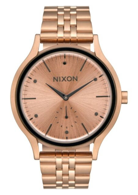 Nixon Women's Watch Sala Stainless Steel Rose Gold-toned A994 2046