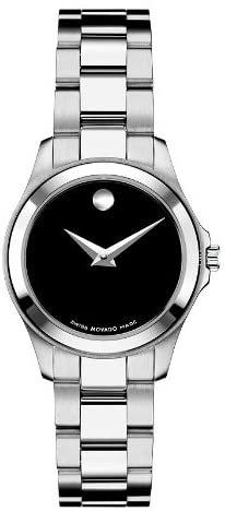 MOVADO Junior Sport Quartz Black Dial Ladies Watch