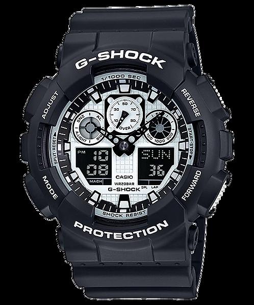 G-SHOCK GA-100BW-1A