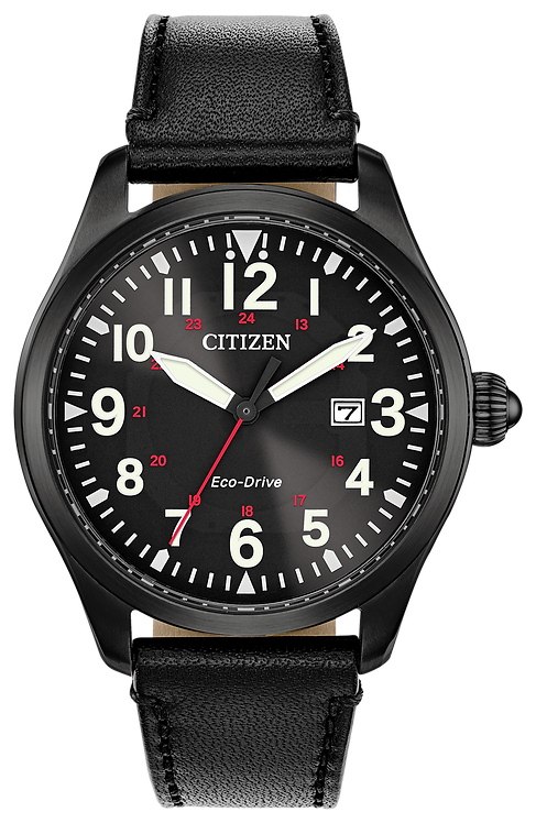 Citizen Chandler Military Eco-Drive Black Watch