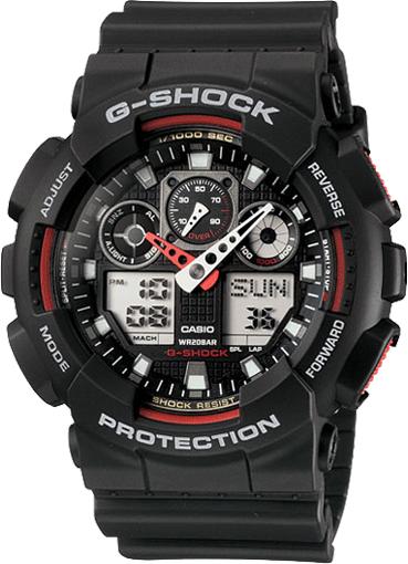 G-SHOCK ANALOG-DIGITAL GA100-1A4