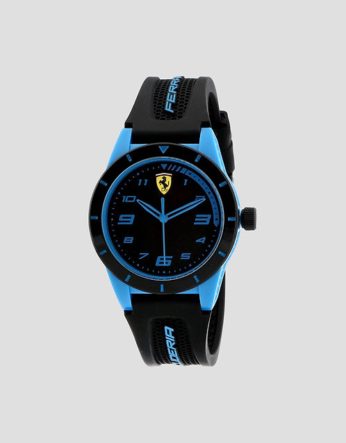 FERRARI RedRev Quartz TR90 and Silicone Strap Casual Watch
