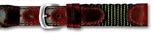 MS866 • Genuine Oil Tan Leather & Nylon