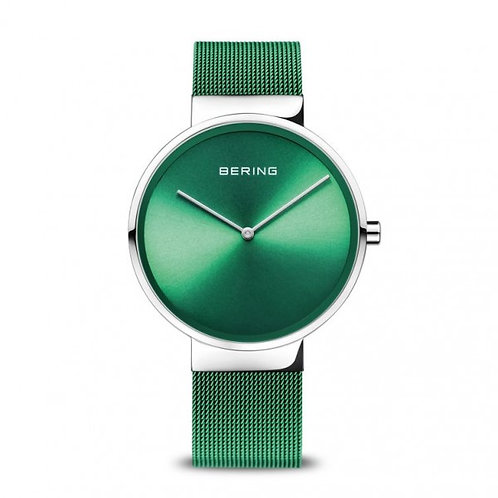BERING Classic | polished/brushed silver | 14539-808