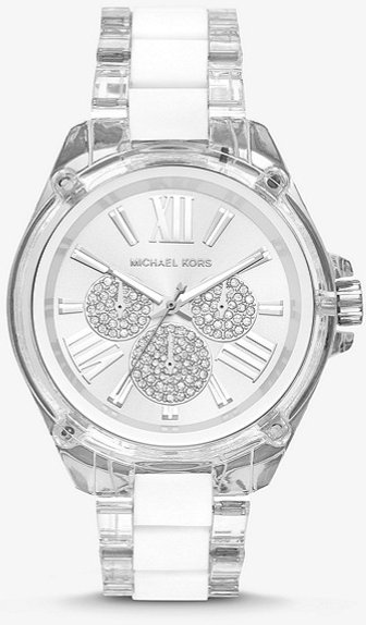 MICHAEL KORS Wren Acetate and Silver-Tone MK6675