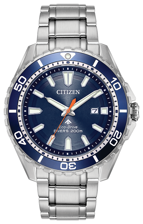 Citizen Promaster Diver Men's Steel Blue Dial Watch