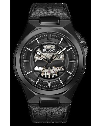Bulova Men's Maquina Automatic Black Watch