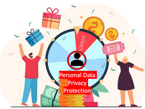 The PCPD reminds the public to safeguard personal data privacy when participating in lucky draw.