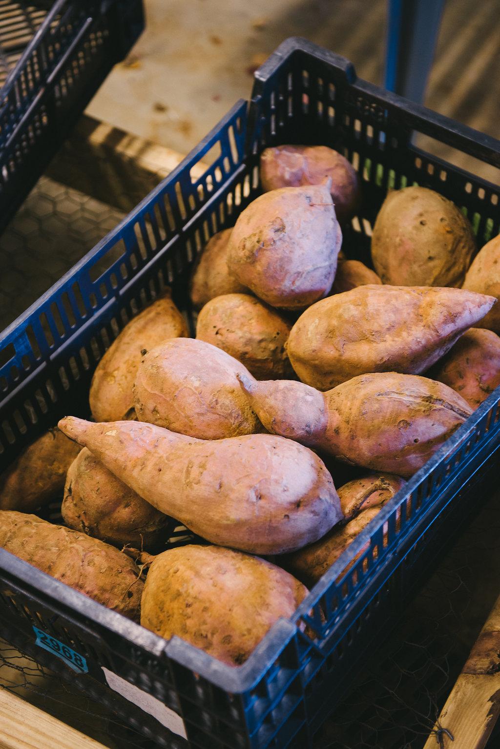 Oh So Sweet Potatoes