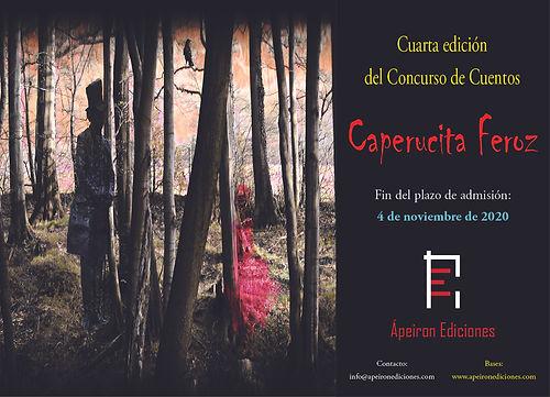 Cartel_Concurso_cuentos_Caperucita_feroz