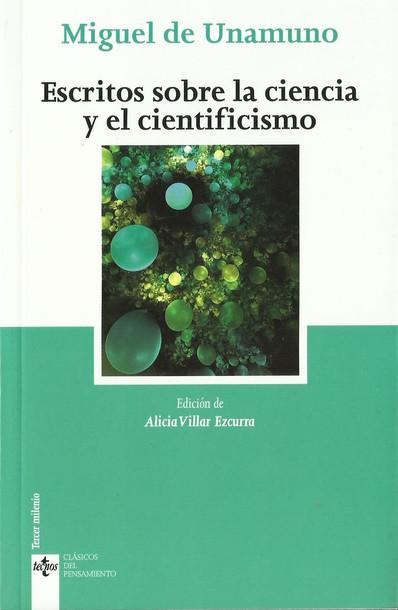 Ciencia y cientificismo en Unamuno