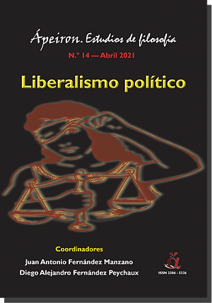 Portada -- Monográfico Liberalismo polít
