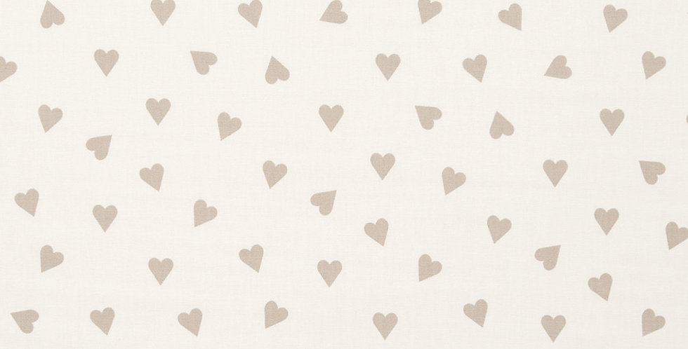 Hearts Taupe