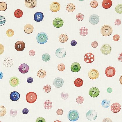 קופסת כפתורים - 100% כותנה