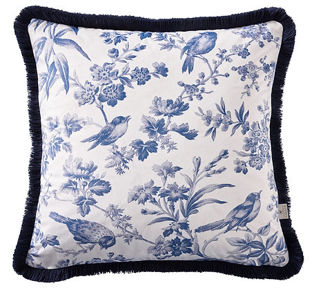 Amelia Indigo Cushion