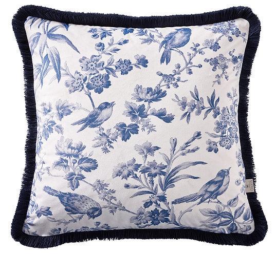 Amelia Indigo Cushion