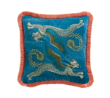 EMMA SHIPLEY LYNX TEAL CUSHION (LO RES).