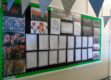 Primary 5 Commemorate Remembrance Day