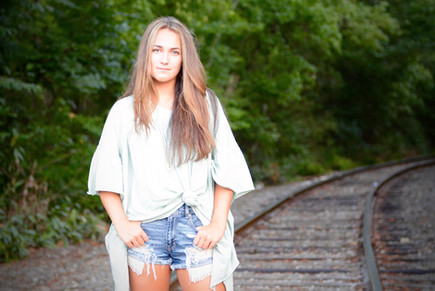 WEST FORSYTH HIGH SCHOOL, FORSYTH COUNTY, SENIOR PICTURES, TRAIN TRACKS